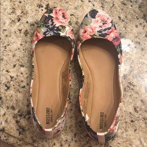 Floral ballet slippers